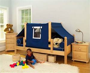 Cool toddler beds google search ethan alexander for Boy toddler bed