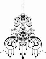 Chandelier Illustration Coloring Vector Template Pattern Depositphotos Vectors Royalty Pages Sketch sketch template