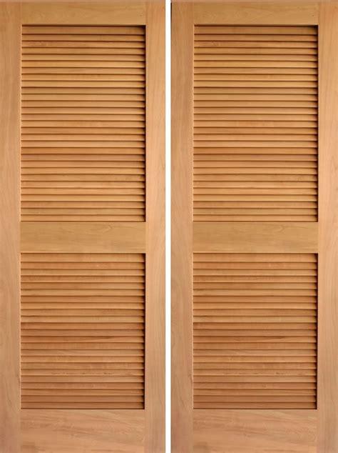 rustic louver double door bathroom doors thinking