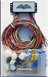 Ultima Plus Electronic Wiring Harness Complete Kit For Harley Chopper Custom New
