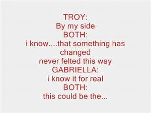 high school musical-start of something new lyrics - YouTube