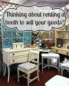 Thinking about renting a booth to sell your goods? Girl