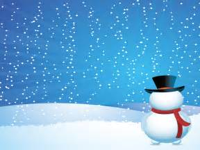 snow man on christmas ppt backgrounds christmas design holiday templates ppt grounds