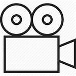 Film Camera Icon Drawing Recording Record Reel
