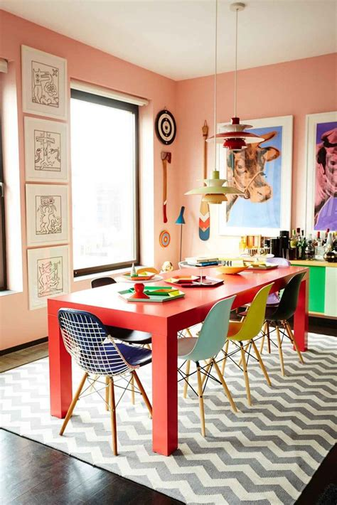 images  pink dining rooms  pinterest