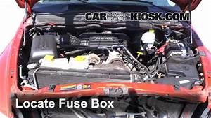 2002-2005 Dodge Ram 1500 Interior Fuse Check