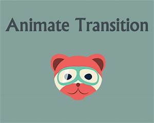 Animate Transition Library For Transition Animations