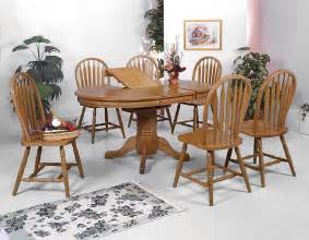 crown oak dining room set dining room sets - Oak Dining Room Sets