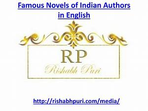 Famous Novels Of Indian Authors In English  U0026gt  Donkeytime Org