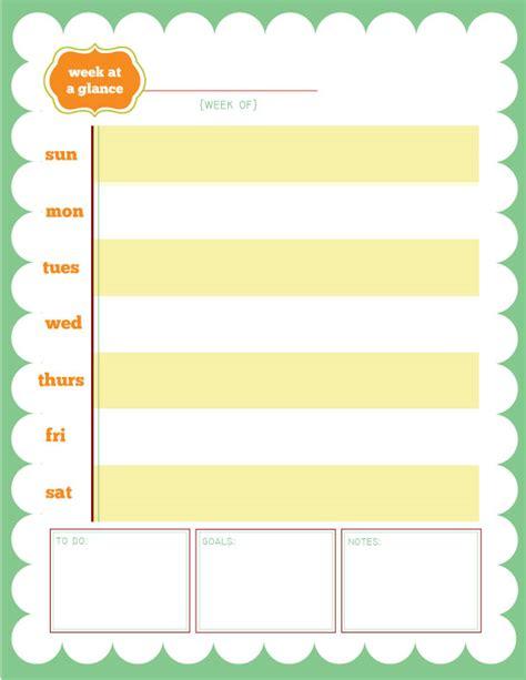 week at a glance calendar taylorgray printable week at a glance calendar