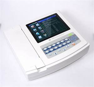 Contec 12 Channel Touch Screen Ecg Machine Device Portable