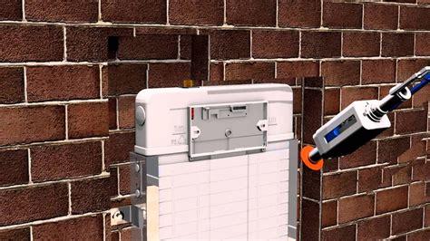 Japar Promicro Galvaniz Duvar İçi Gömme Rezervuar - YouTube