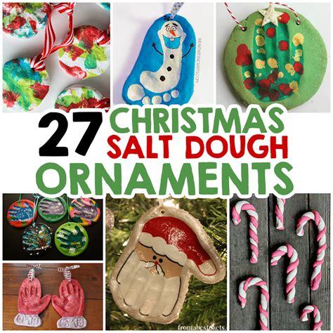 27 christmas salt dough ornaments for kids dough