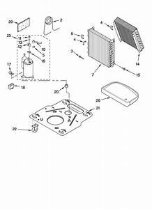 Unit Parts Diagram  U0026 Parts List For Model Ad50usr1