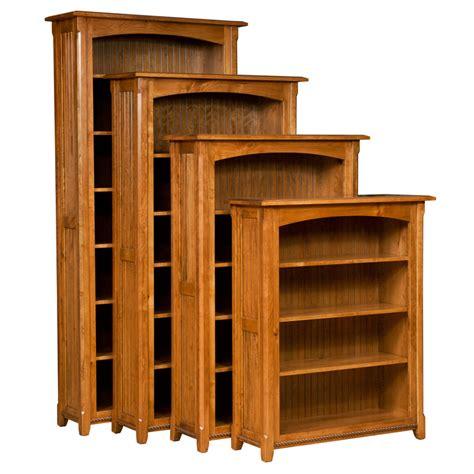 Shaker Style Bookcase by Amish Bookcases Amish Furniture Shipshewana Furniture Co