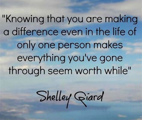 Making A Difference Quotes | You Make The Difference Quotes