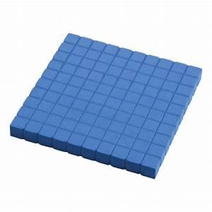 Base Ten - Foam - Hundred Flats  Set Of 10