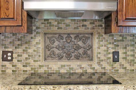 kitchen accent tiles kitchen backsplash idea gray taupe green mosaic tile 2111