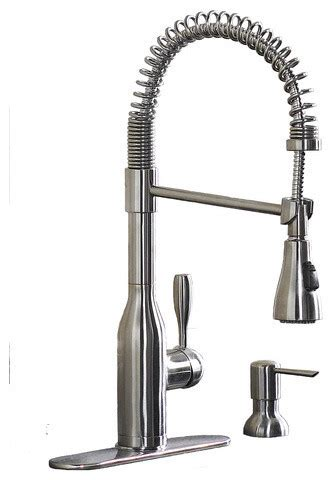 stainless steel faucets kitchen aquasource stainless steel 1 handle pull kitchen faucet contemporary kitchen faucets