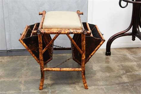 antique tables for bamboo bench with lacquered panels for at 7487