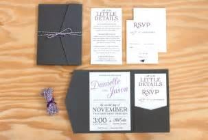 wedding pocket invitations pocket wedding invitation packaged wedding invitation