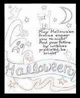 Halloween Coloring Outhouse Adult Children Template Activities Moon Printable sketch template