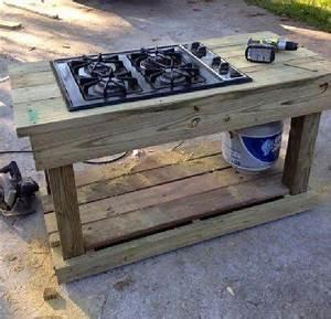 fabriquer une cuisine d39ete en palette With peinture mur exterieur couleur 11 fabriquer un composteur en palette ou bois de recup