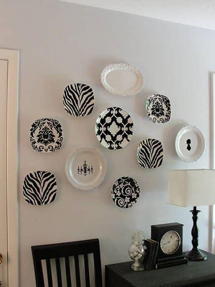 decora las paredes  platos antiguos decoracion de interiores  exteriores estiloydeco
