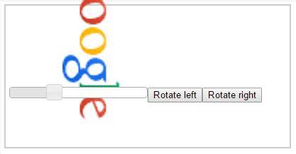 Javascript Rotate Image Javascript Rotate Image Quot Overlaps Quot Other Html Elements