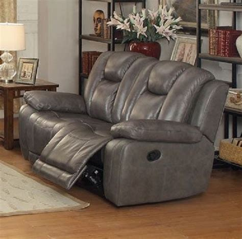 Top Grain Leather Loveseat by Top Grain Leather Reclining Loveseat