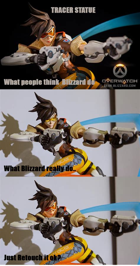 Tracer Memes - tracer statue by badcompzero on deviantart