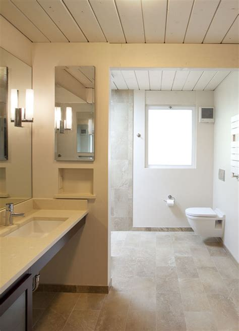 small  eichler expansion midcentury bathroom