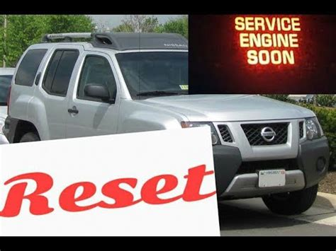 service engine soon light nissan xterra decoratingspecial