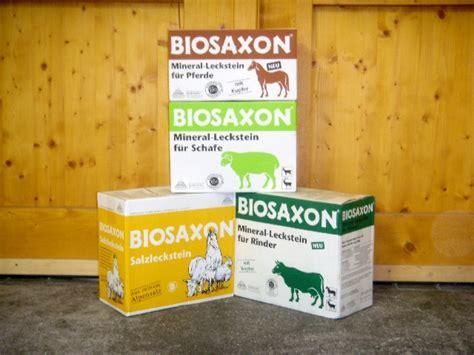 zubehoerartikel biosaxon lecksteine