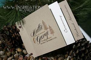 Wedding invitations booklet style for Wedding invitation photo booklet