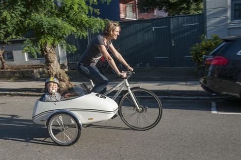 behold  family bicycle electric motor sidecar