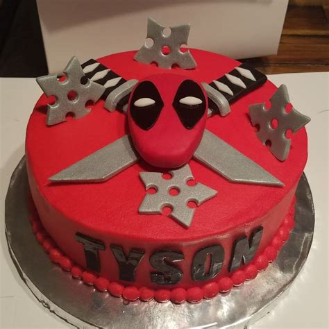 deadpool cake ideas  pinterest deadpool