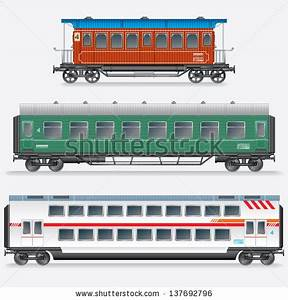 Passenger Train Clipart Black And White | Clipart Panda ...