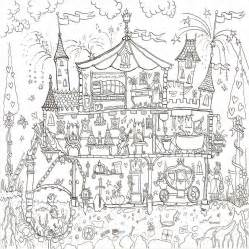 princess palace colouring in poster by really
