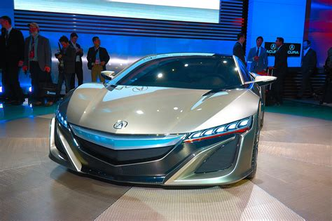 Acura Nsx 2012 Price by American Honda Unveils New Nsx Concept At 2012 Detroit