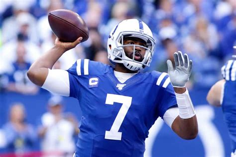 colts discussing playing role  jacoby brissett