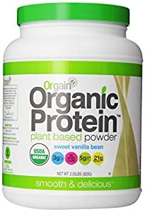 Amazon.com : Orgain Organic Protein Plant-Based Powder