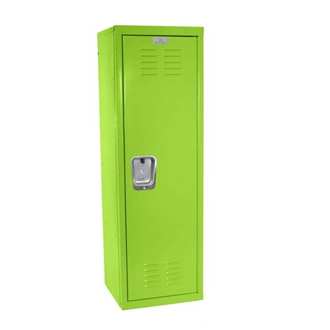storage shelves for bedroom green locker for mudroom or playroom 15 quot d x 15 quot w x 48 quot h