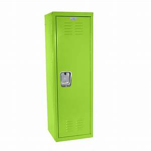 Kids Green Locker For Mudroom Or Playroom 15quotd X 15quotw X 48quoth