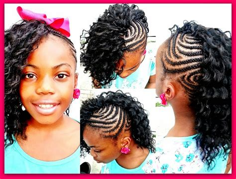 Cute Little Girl Hairstyles With Weave