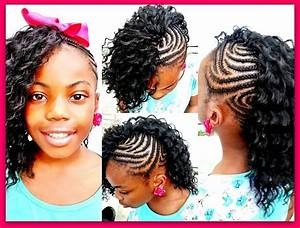 Little Girl Braid Hairstyles With Weave