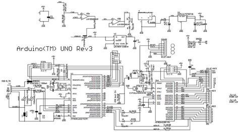 schematic diagram  arduino uno atmega arduinouno