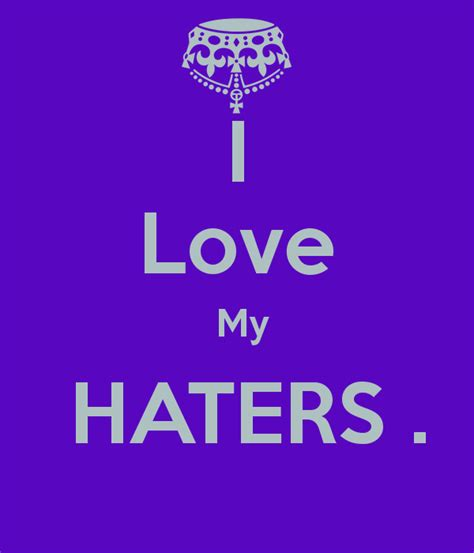 Best 50+ I Love All My Haters Quotes