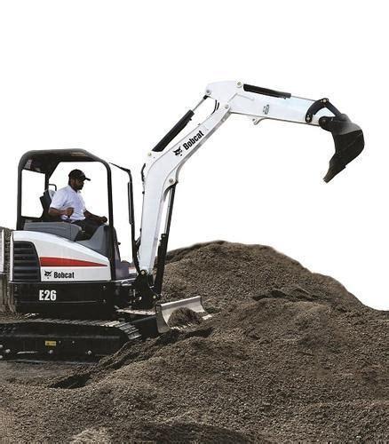 bobcat mini excavators bobcat  mini excavator service provider  chennai