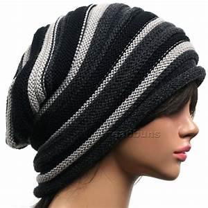 men women beautiful designer Slouch BEANIE head wrap ...